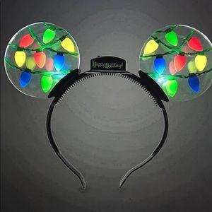 NEW 2 Pack Disney Light Up Ears Headband